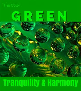 The Color Green - Tranquility and Harmony
